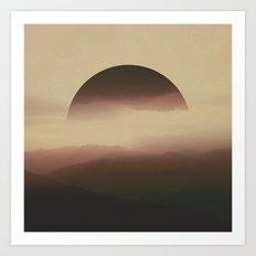 The Highlands Art Print