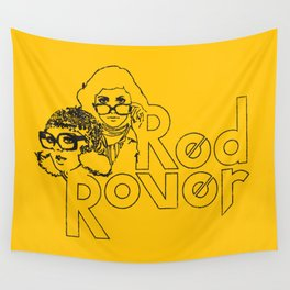 Red Rover Wall Tapestry
