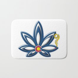 Colorado Cannabis Bath Mat
