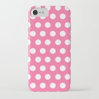 minnie mouse iPhone & iPod Cases featuring Minnie Mouse Dots | Pink by DisPrints