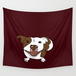Celia Mae The Pit Bull Wall Tapestry