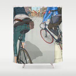 City traveller Shower Curtain