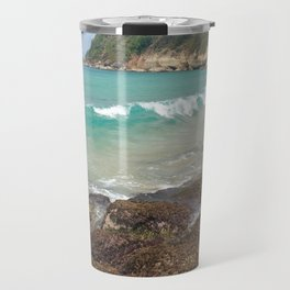 Warm Tropical Waves Travel Mug