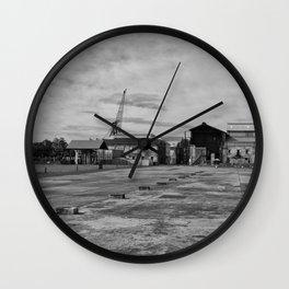 Urban Island Exploration Wall Clock