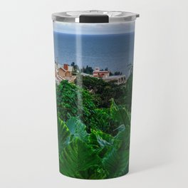 Let's Live in a House by the Sea Travel Mug