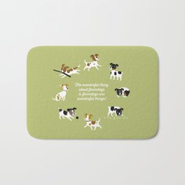 Farmdogs are wonderful things Bath Mat