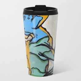 Establishing A Connection by Amos Duggan 2013 Metal Travel Mug