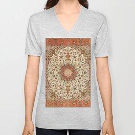 Bohemian Traditional Moroccan Style Artwork Unisex V-Neck