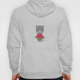 Cat with Melon Hoody
