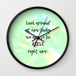 Look Around Wall Clock