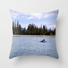Solitude in the Sierras Throw Pillow