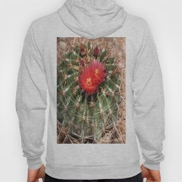 Red Cati Blossoms Hoody