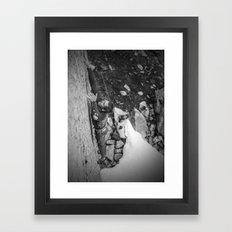 Hang on! Framed Art Print