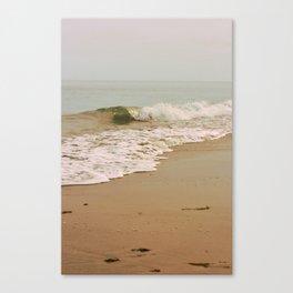 Ocean Waves on the Beach Canvas Print