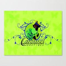 Carousel Boutique Canvas Print