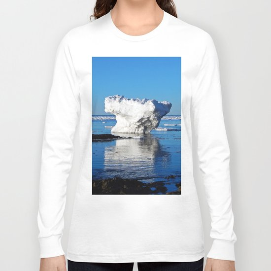 Iceberg in the Shallows Long Sleeve T-shirt