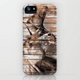 Run With the Horses iPhone Case