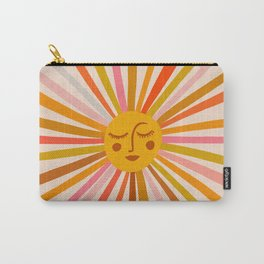 Sunshine – Retro Ochre Palette Carry-All Pouch
