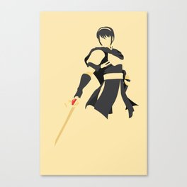 Marth (Yellow) || Super Smash Bros Melee Canvas Print