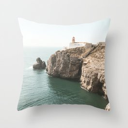 Ocean Coast Line 2 Throw Pillow