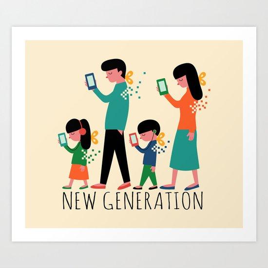 New Generation Art Print