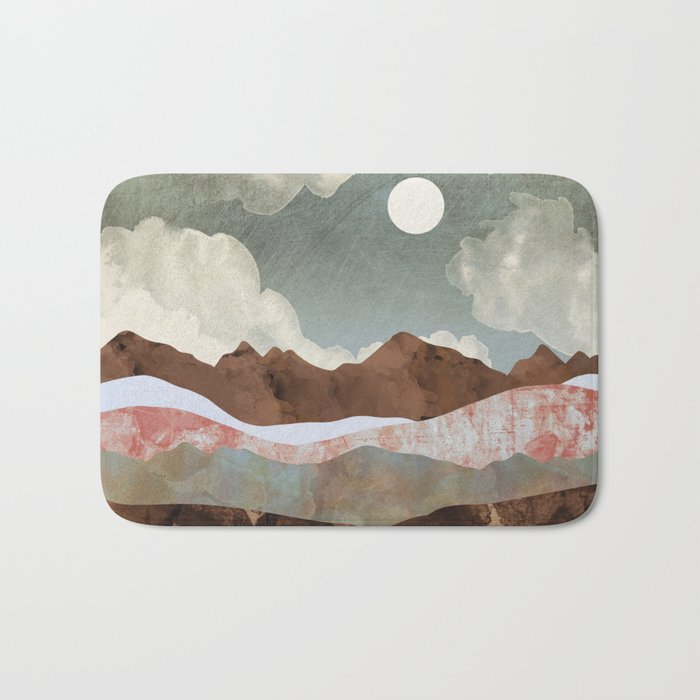 Cloudy Night Bath Mat