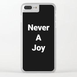 Mai na gioia Clear iPhone Case