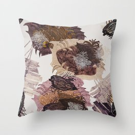 Carbonation Collection: autumn Throw Pillow