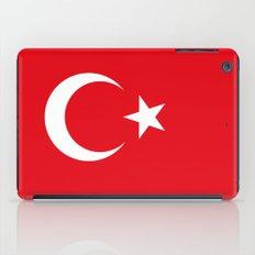 The National flag of Turkey iPad Case