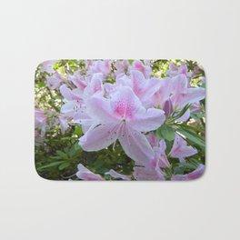 Hello Spring Flowers Bath Mat