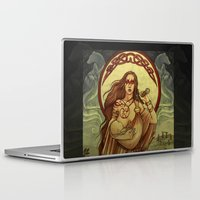 mother Laptop & iPad Skins featuring Mother by Natasa Ilincic