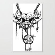 nightmare attractor Canvas Print