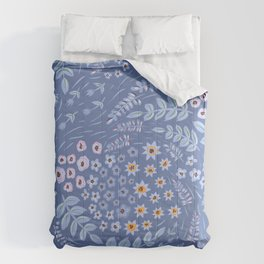 Dank Blue Variation Comforters
