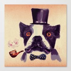 Mr. Bulldog II Canvas Print