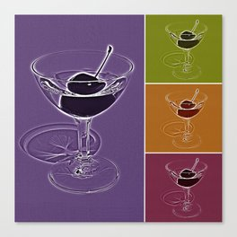 Summertime cocktail time Canvas Print