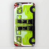 van iPhone & iPod Skins featuring Van by Gabriel Prusmack and Sophia Buddenhagen