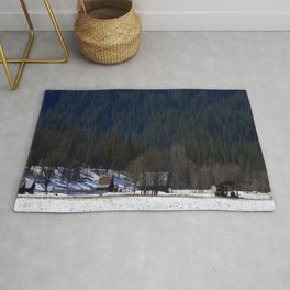Little bitty Country town... Rug