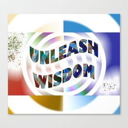 Unleash Wisdom Canvas Print