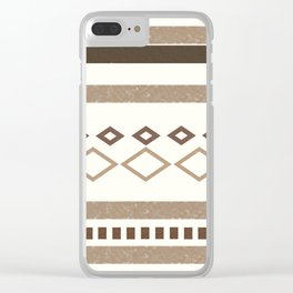 Out West (I) Clear iPhone Case