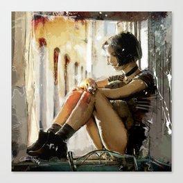 Mathilda - Leon the Professional Canvas Print