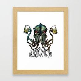 Cbrewlhu Framed Art Print