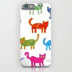 Cat Pattern iPhone 6s Slim Case