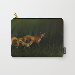 Loopy Foxes - w bg Carry-All Pouch