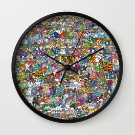pokeman Wall Clock