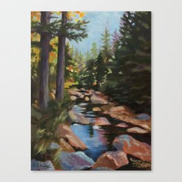 Hike to the Sugarloaves of New Hampshire - Acrylic Canvas Print