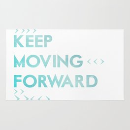 keep moving forward.. meet the robinsons disney movie quote Rug