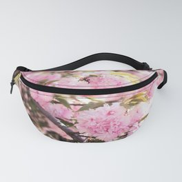 Close Up of Pink Blossom Fanny Pack