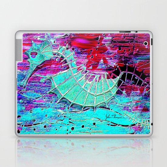 Seahorse Skeleton Laptop & iPad Skin
