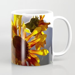 salute to the Sun as a sunflower Coffee Mug