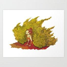 Sitter Art Print